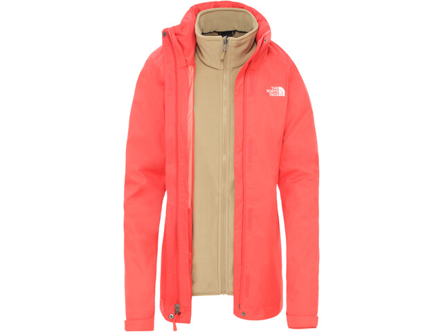 The North Face Evolve II Veste Triclimate Femme, cayenne red